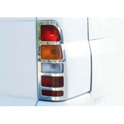 Contour chrome for rear lights Ford TRANSIT 2000 - 2013
