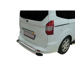 Trunk chrome alu for Ford TOURNEO COURIER 2014 baguette -]