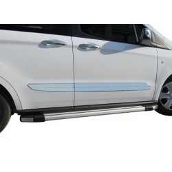 Covers wands doors chrome for Ford TOURNEO COURIER 2014 -]