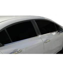 Window trim cover chrom alu for Honda CIVIC 2012-[...]