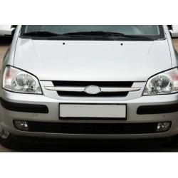 Rod's grille chrome for Hyundai GETZ 2002-2011