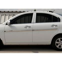 Covers doors chrome for Hyundai ACCENT/ERA 2005-2011 rods