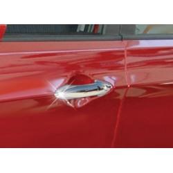 For Hyundai ACCENT BLUE/SOLARIS chrome door handle covers