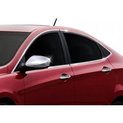Window trim cover chrom alu for Hyundai ACCENT BLUE/SOLARIS 2012-[...]
