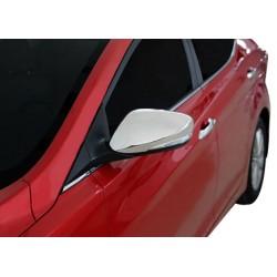 Covers mirrors stainless chrome for Hyundai ELANTRA IV 2011-[...]