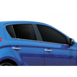 Window trim cover chrom alu for Hyundai i20 Facelift 2012-[...]
