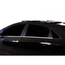Window trim cover chrom alu for Hyundai i30 2012-[...]