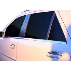 Window trim cover chrom alu for Mercedes ML W164 2005-2011