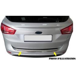 Rear bumper sill cover alu brushed for Mercedes class C W204 2008-[...]