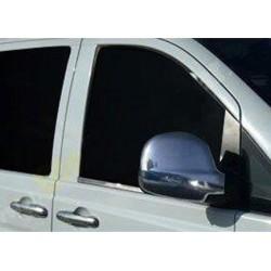 Window trim cover chrom alu for Mercedes VITO W639 Facelift 2010-[...]