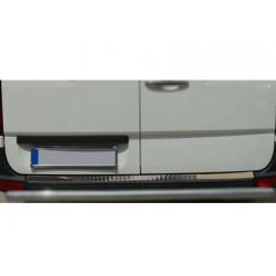 Rear bumper sill cover alu for Mercedes SPRINTER 2006-[...]