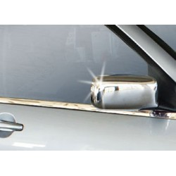 Covers mirrors stainless chrome for Mitsubishi LANCER 2000 - 2007