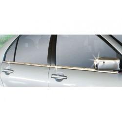 Window trim cover chrom alu for Mitsubishi LANCER 2000 - 2007