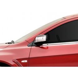 Covers mirrors stainless chrome for Mitsubishi LANCER 2007-[...]