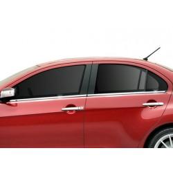 Window trim cover chrom alu for Mitsubishi LANCER 2007-[...]
