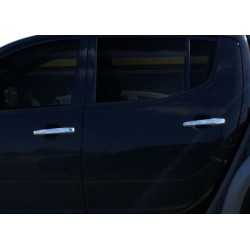 Mitsubishi L200 IV chrome door handle covers