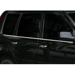 Window trim cover chrom alu for Nissan X-TRAIL 2001-2007