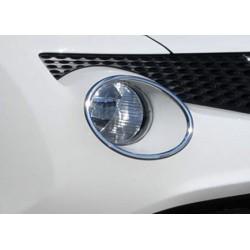 Contour chrome front headlight Nissan JUKE 2011-2014
