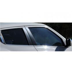 Window trim cover chrom alu for Nissan JUKE 2011-2014
