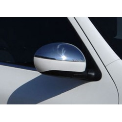 Covers mirrors stainless chrome for Nissan JUKE 2011 - 2014