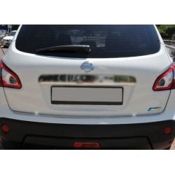 Rear bumper sill cover alu for Nissan QASHQAI + 2 2009-[...]