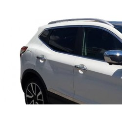 Nissan QASHQAI chrome door handle covers