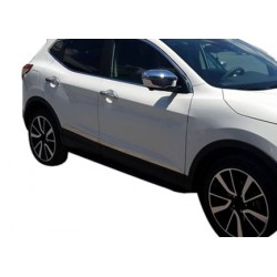 Covers rods doors chrome for Nissan QASHQAI II 2014-[...]
