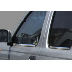 Window trim cover chrom alu for Nissan PICK-UP / SKYSTAR 1997-2004