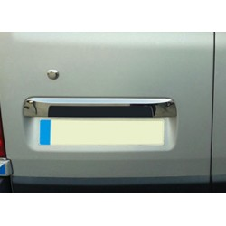 Handle trunk chrome for Nissan PRIMASTAR 2001-[...] - a back door covers