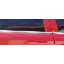 Window trim cover chrom alu for Opel ASTRA G 1998-2009