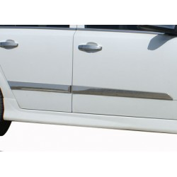 Covers rods doors chrome for Opel ASTRA H 2009-2013