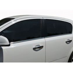 Window trim cover chrom alu for Opel ASTRA H 2009-2013