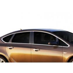 Outline of window chrome alu for Opel ASTRA J 2010-[...]