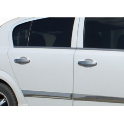 Opel CORSA D 5 door chrome door handle covers