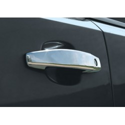 Opel CORSA D 3 door chrome door handle covers