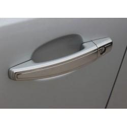 Chrome deco for Opel CORSA D 3 doors door handle covers