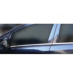 Window trim cover chrom alu for Opel CORSA D 2006-[...]