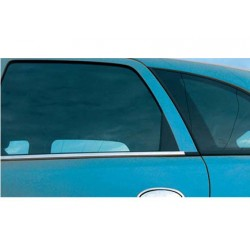 Window trim cover chrom alu for Opel MERIVA A 2002-2010