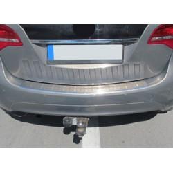 Rear bumper sill cover alu for Opel MERIVA B 2010-[...]