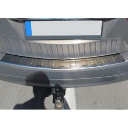 Rear bumper sill cover alu brushed for Opel MERIVA B 2010-[...]