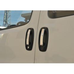 Opel COMBO D 4 door chrome door handle covers