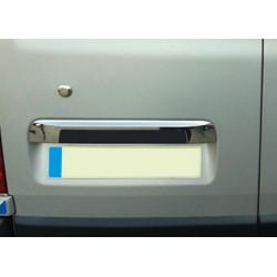 Handle trunk chrome for Opel VIVARO II - covers [...] Facelift 2010-[...] - a door rear