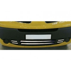 Added chrome bumper before Opel VIVARO II-[...] Facelift 2010-[...]