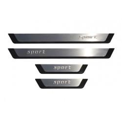 Door sills SPORT for Peugeot 107