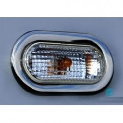 Contour chrome flashing Peugeot 206 / 206 PLUS 1998-2012