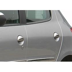 Peugeot 206 PLUS 5 door chrome door handle covers
