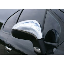 Covers mirrors stainless chrome for Peugeot 207 2006-2012