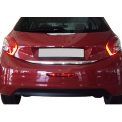 Rear bumper sill cover for Peugeot 208 2012-[...]