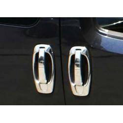Peugeot BIPPER 4 doors - 8 chrome door handle covers