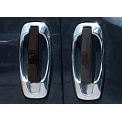 Chrome frame for Peugeot BIPPER 4 doors door handle covers